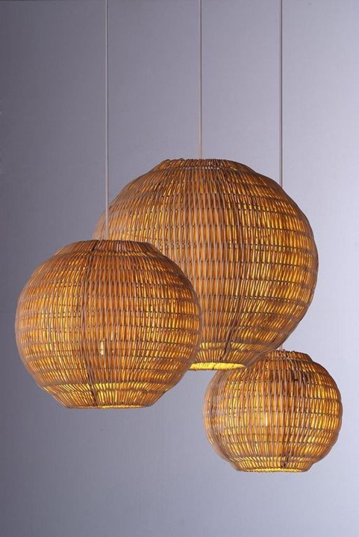 Gorgeous Hanging Bamboo Lamp Design