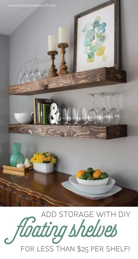 Wood, Pallet + Plank Projects for the Home