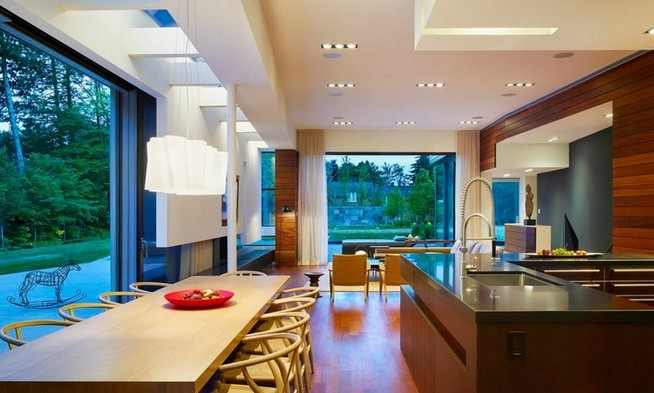 Window treatments for food in the kitchen