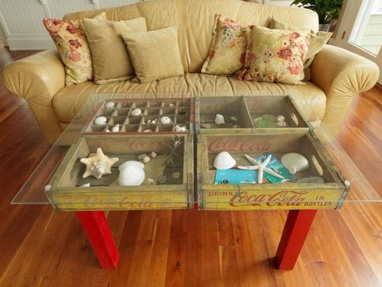 Shadow Box Coffee Table Display Ideas