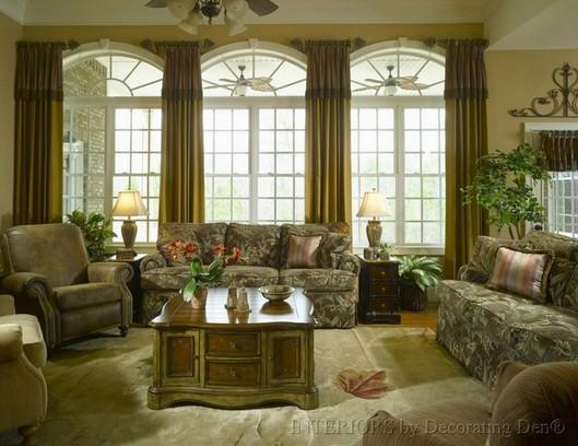 Cottage Living window treatments