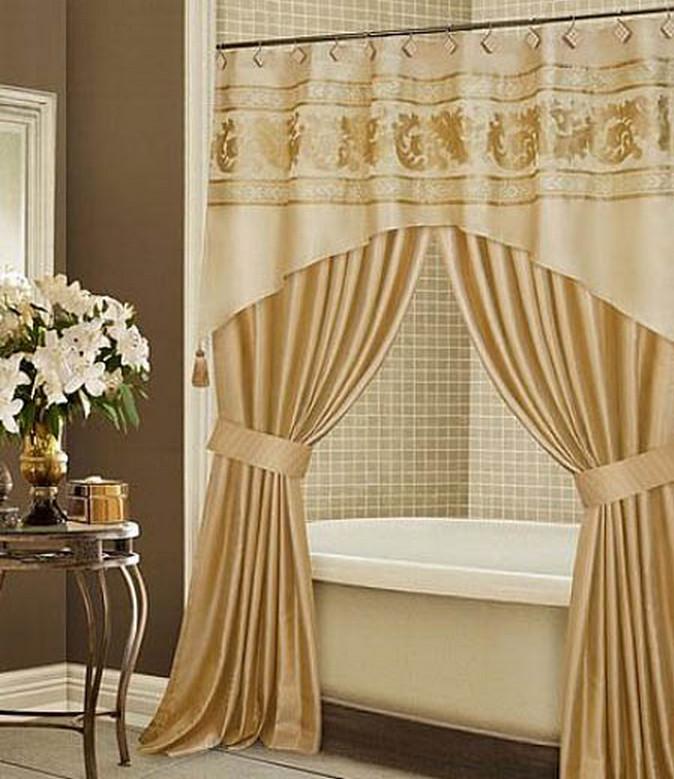 Best idea luxury shower curtain
