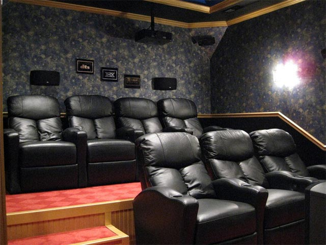 Home theater couch 2
