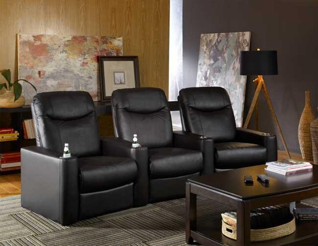 Home theater couch 3