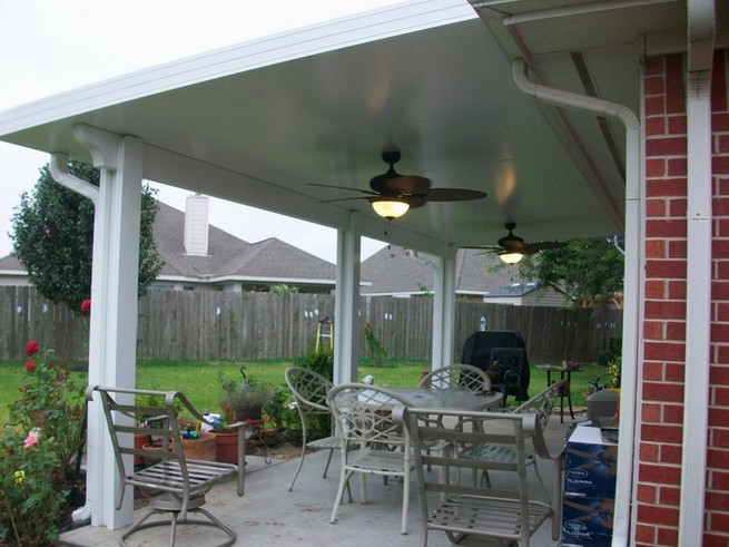 Michigan aluminum patio awnings