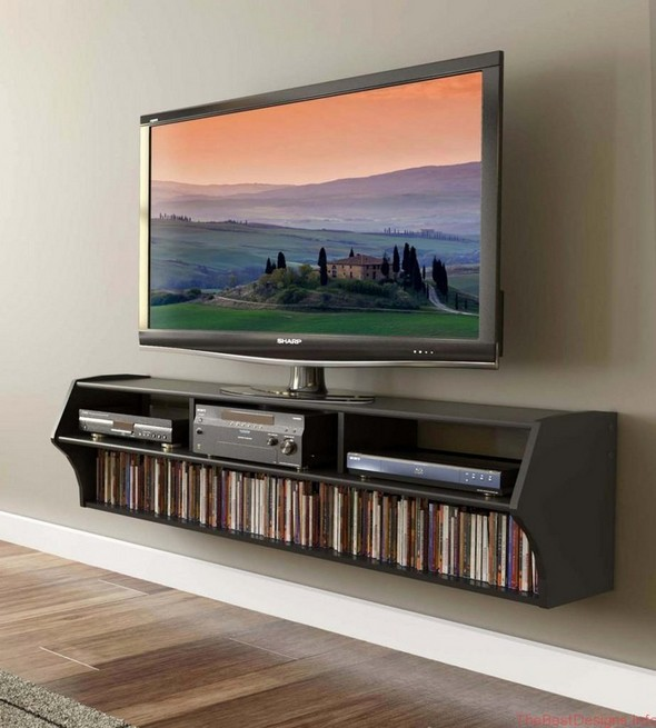 TV stand with bracket 58 inch Altus Wide