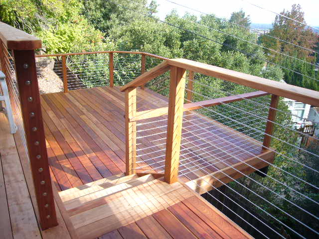 Home Depot Wire Deck Railings