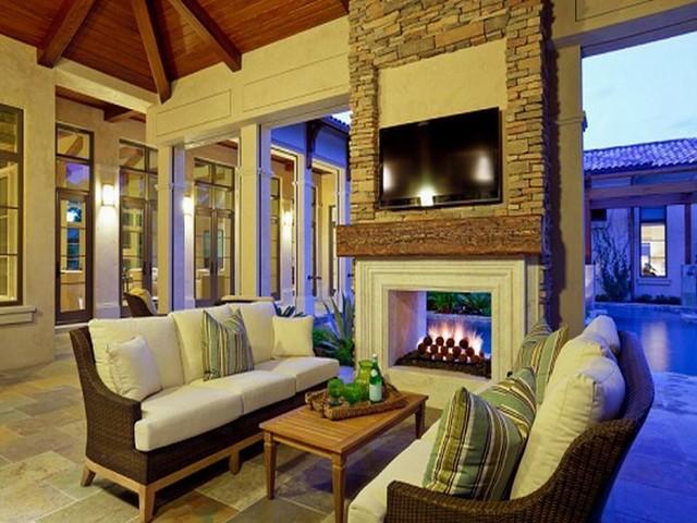 Elegant screening ideas for the terrace