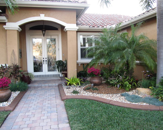 Ideas for landscaping in the small front yard