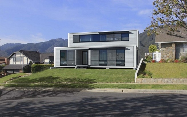 Prefabricated container houses Europe