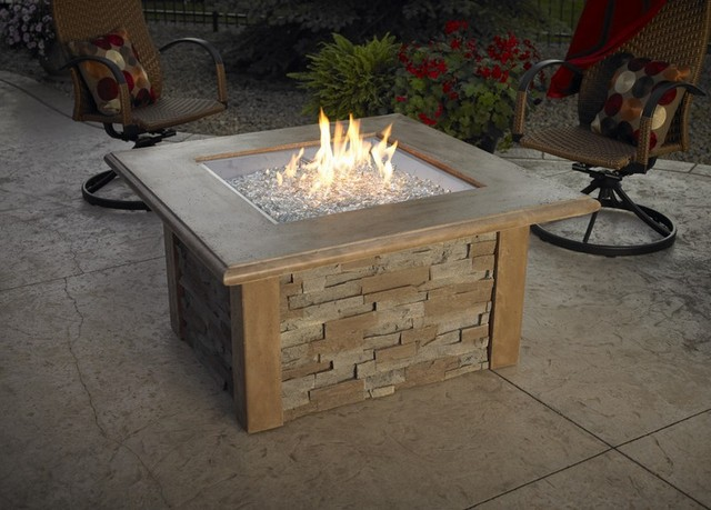 Table fire kit