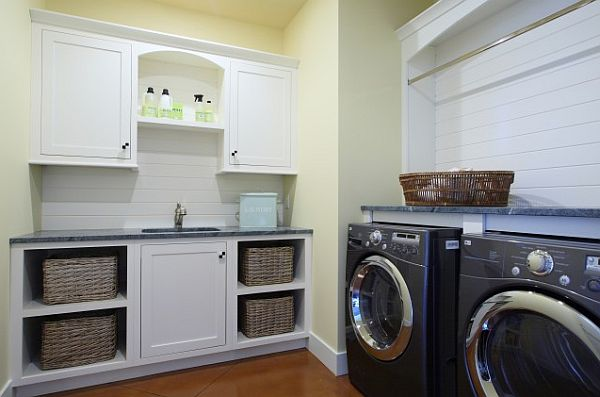 Laundry cabinets 3
