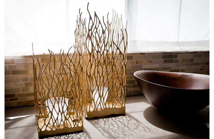 Decoration with bamboo 3