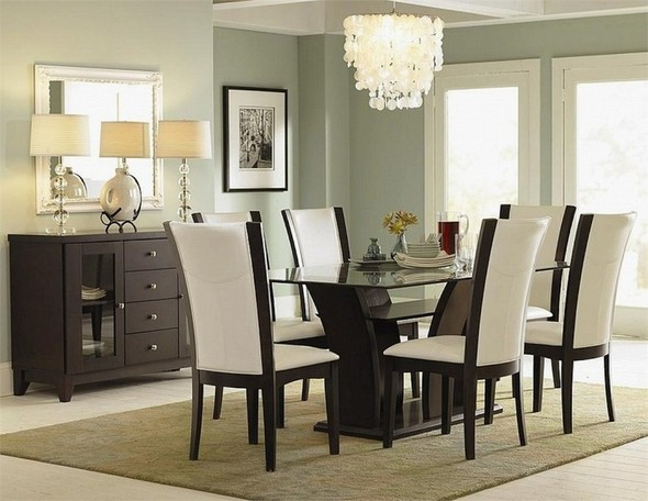 Dining room table decor 2