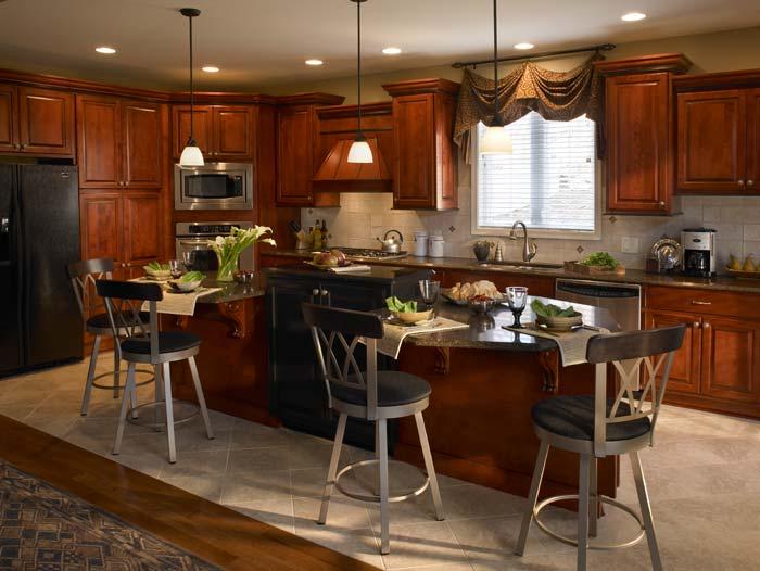 Custom made kitchen cabinets 3