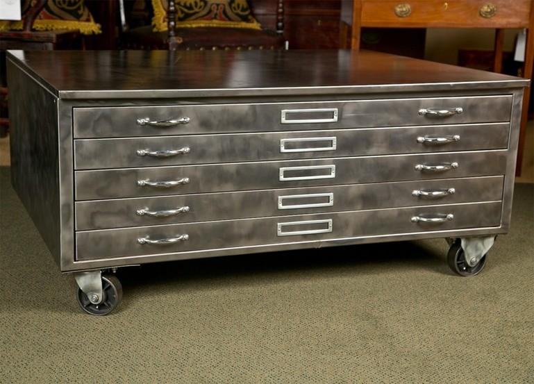 Flat filing cabinet 2