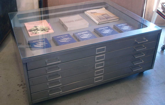 Flat filing cabinet 3