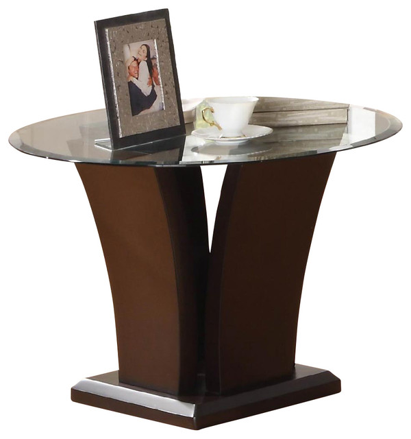 Side table with glass top 3