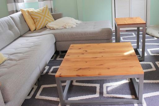 Homemade side table 3