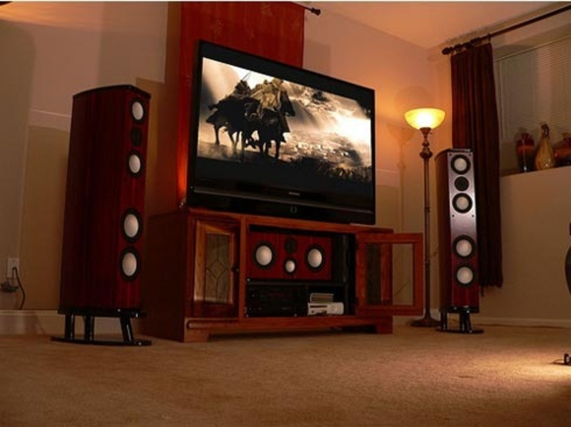 Home entertainment room, home theater decor, home decor, home theater