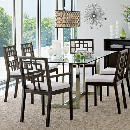 Dining table with glass top 3