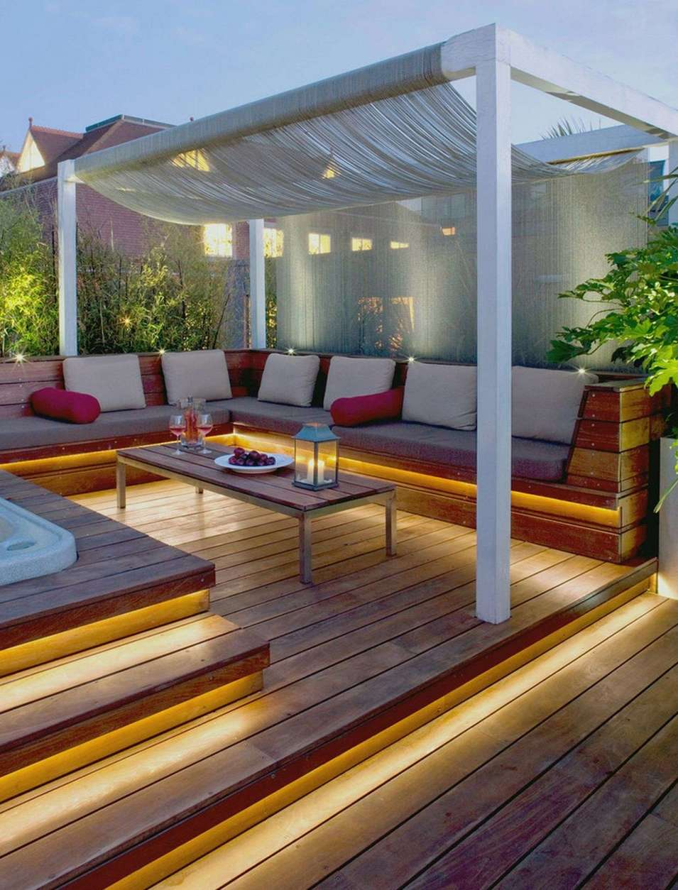 ... 39 awesome garden decking ideas inspiration of