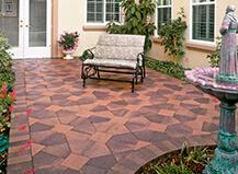 ... patio pavers unique design ideas ... VGDJLCN