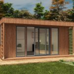 The Enclosed Garden Office Design