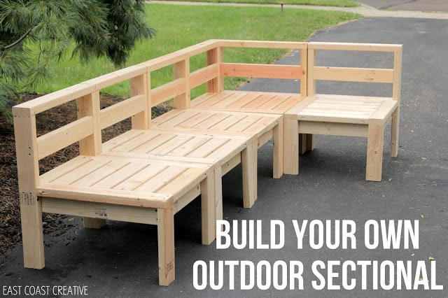 Making Of The Diy Outdoor Furniture