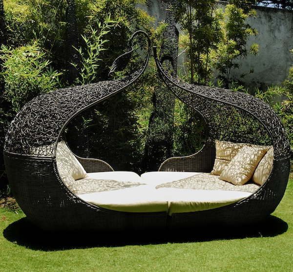 10 outdoor daybeds for a lazy afternoon - patio-outdoor-furniture OUWPFUB