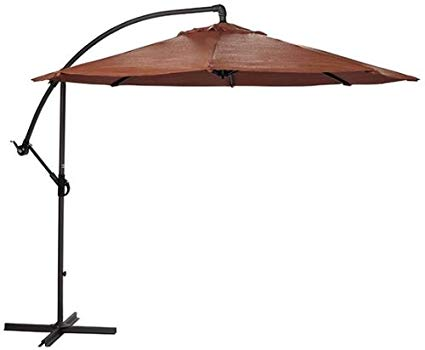 Have a Great Time Outdoor with cantilever umbrella