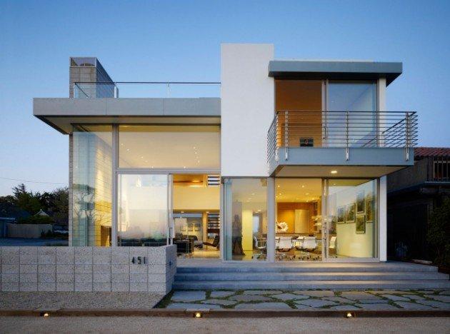 12 most amazing small contemporary house designs NZGQBON