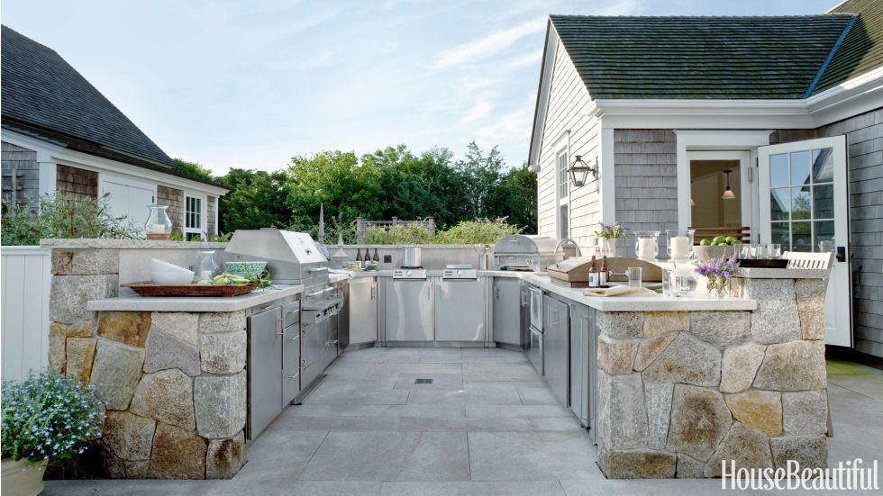 15 best outdoor kitchen ideas and designs - pictures of beautiful outdoor ZTLKHKL