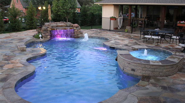 15 remarkable free form pool designs | home design lover FWYMOEW