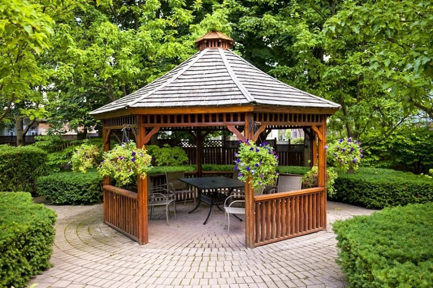 17 handsome budget gazebo designs ZUOWPAF