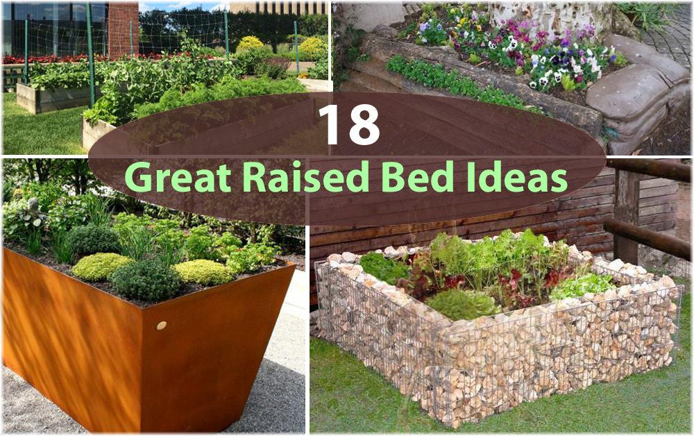 18 great raised bed ideas | raised bed gardening | balcony garden RHOWPVZ
