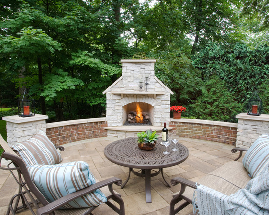 18 patio fireplace design ideas for your outdoor space ISGUEID