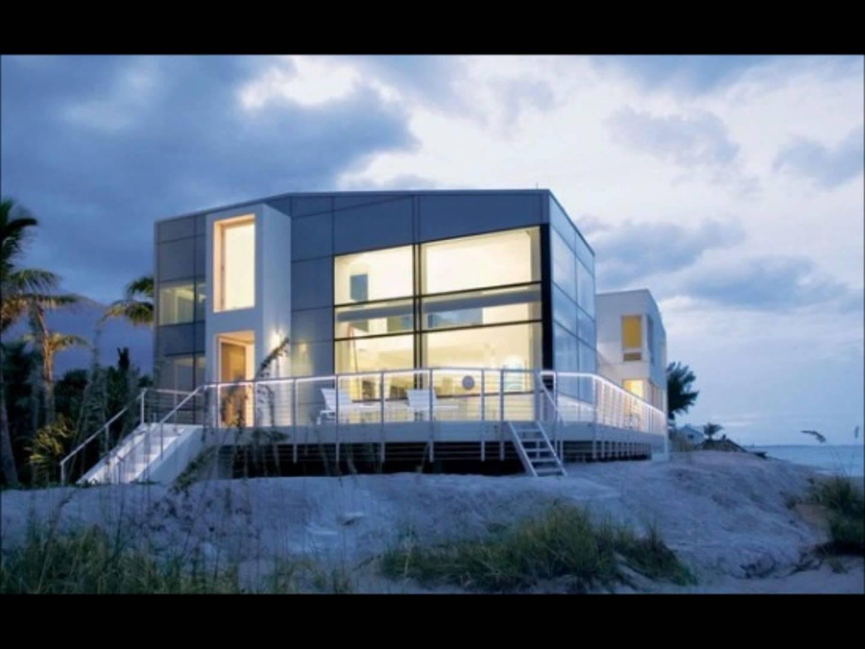 20 imaginative modern beach house designs - youtube UMFQYNW