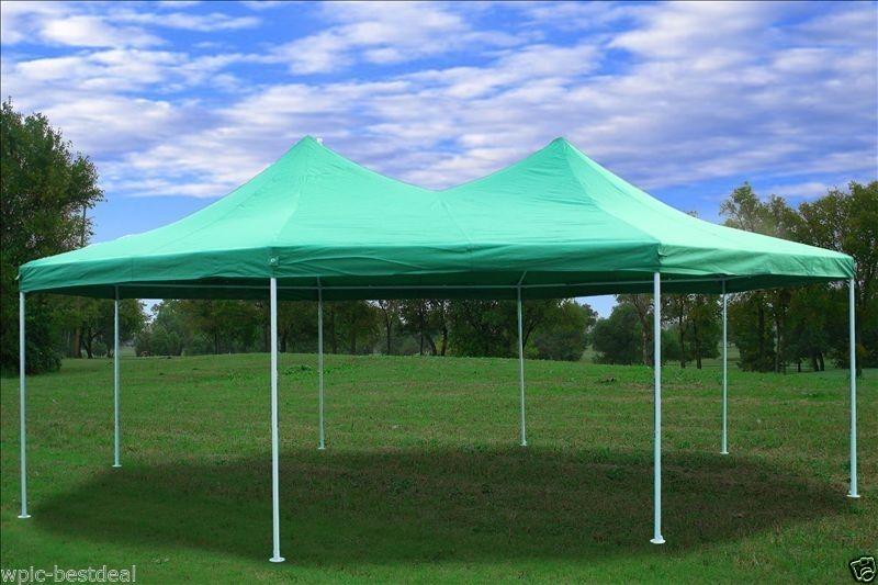 22 x 16 green gazebo tent 02 JPDBUDM