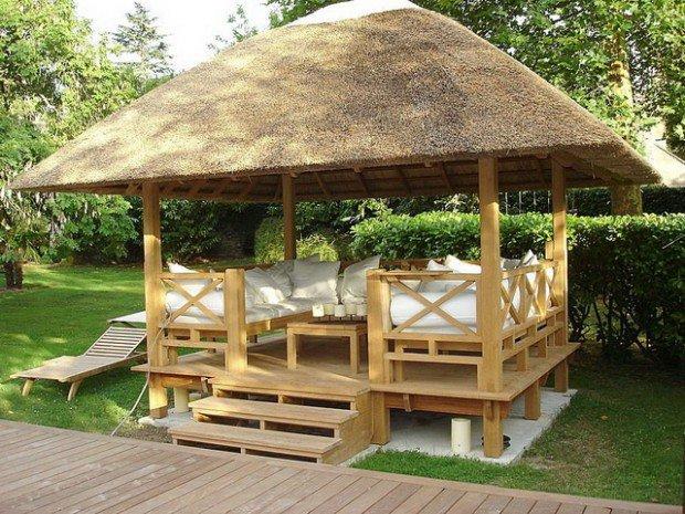 23 interesting gazebo ideas for your garden PRYWTOH
