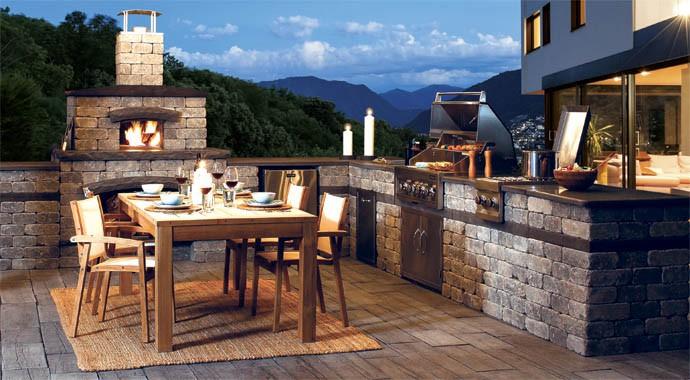 25+ amazing outdoor kitchen ideas u0026 designs DJPPKVM