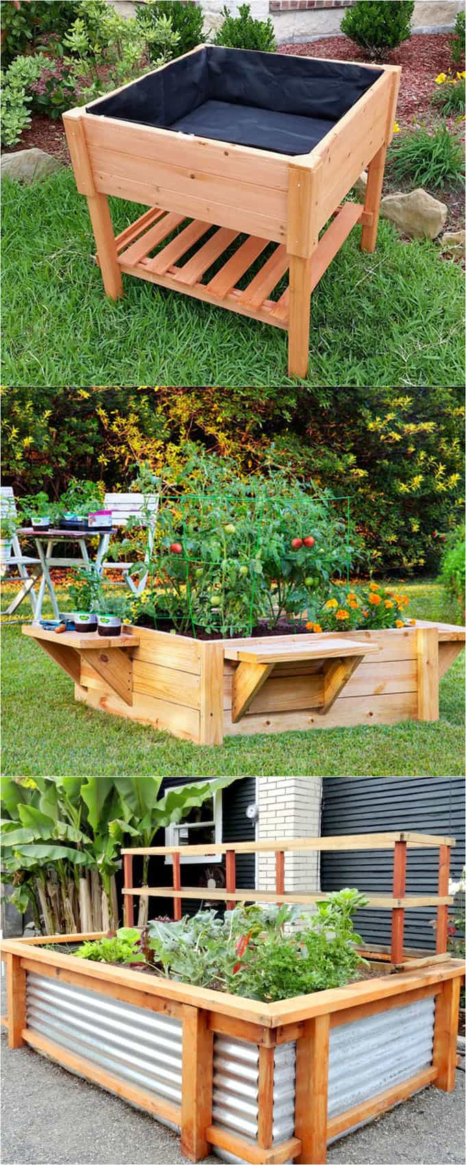 28 amazing diy raised bed gardens TZDFCWW