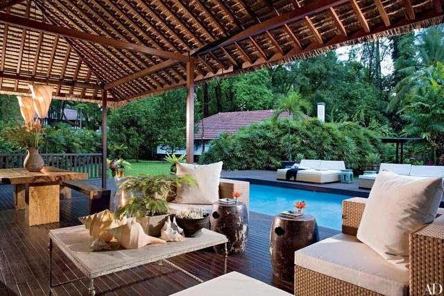 28 luxurious indoor-outdoor rooms ZIWNUBY