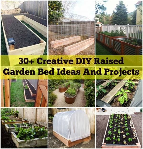 30+ creative diy raised garden bed ideas and projects DCSFEWZ