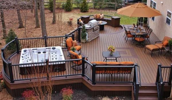 32 wonderful deck designs to make your home extremely awesome LHBXGOQ