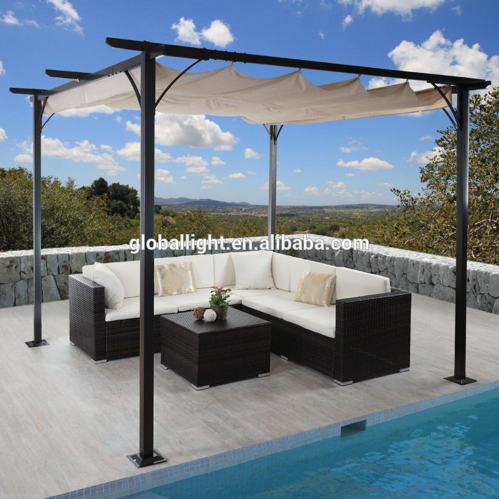 3x3m durable pavillon garden gazebo metal pergola - buy gazebo,metal  gazebo,garden DWHVJMZ