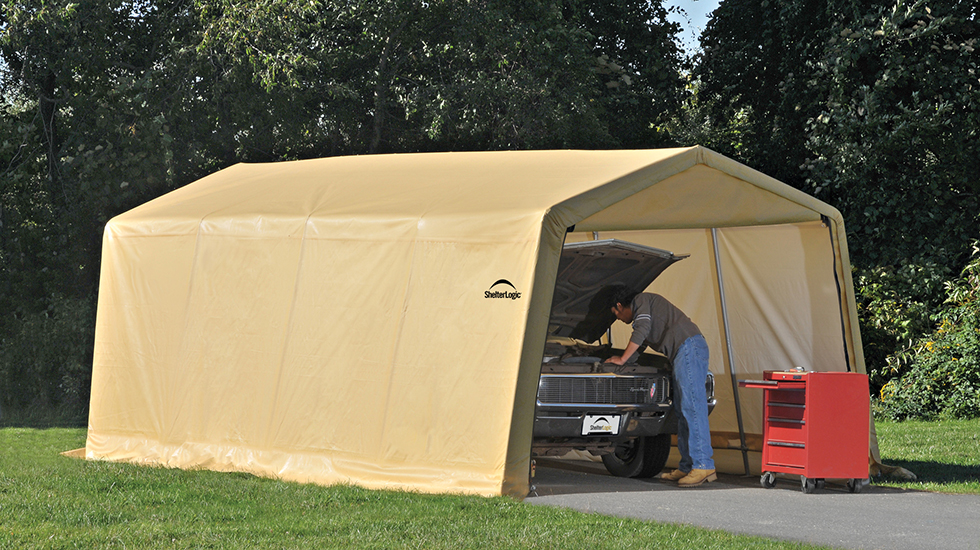 4 types of car shelters for summer vehicle protection ZWCPTJD