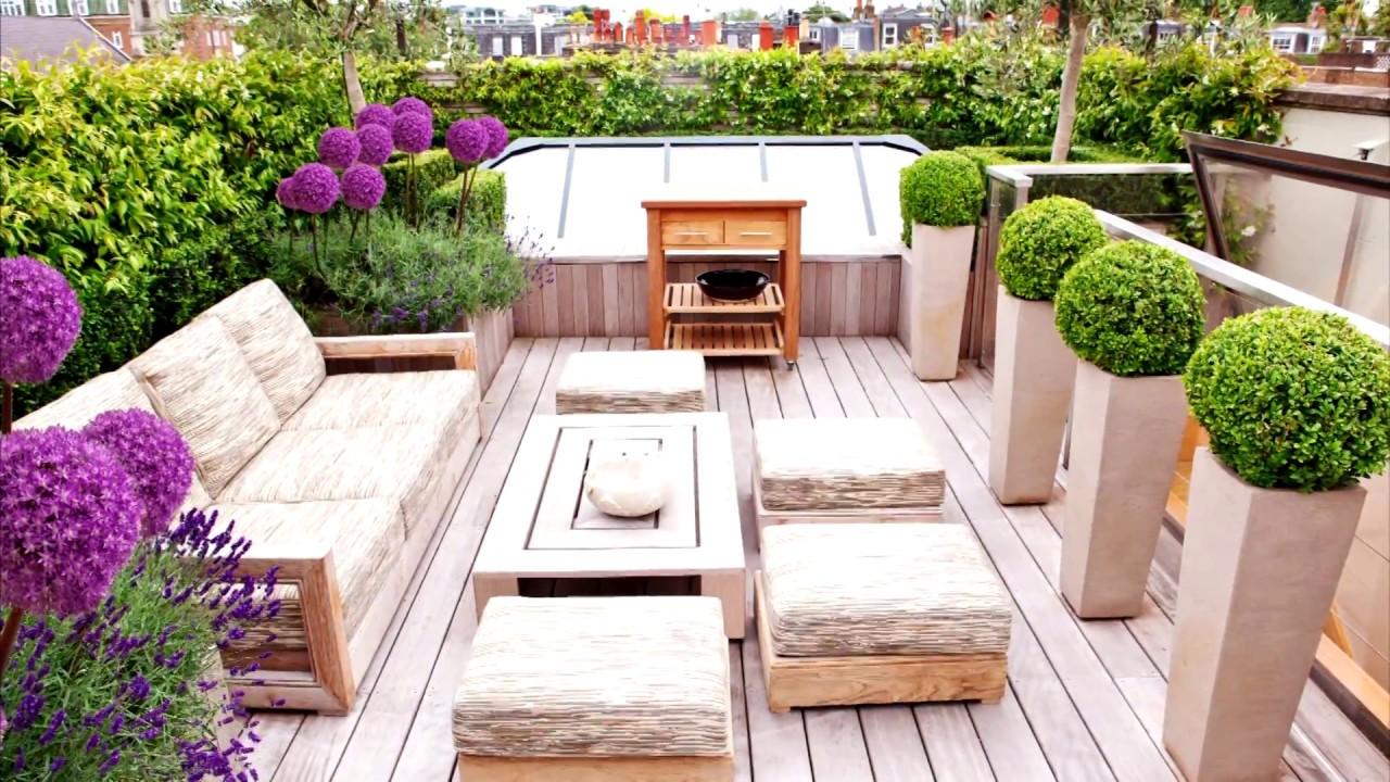 48 roof garden design ideas HIJVQPA
