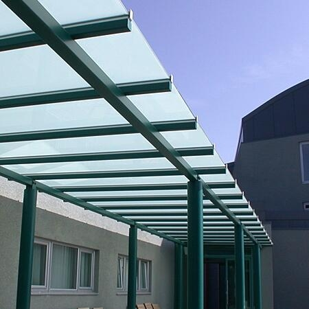 5+5mm glass canopy manufacturer china,tempered laminated glass awnings  price ... RXDILVJ