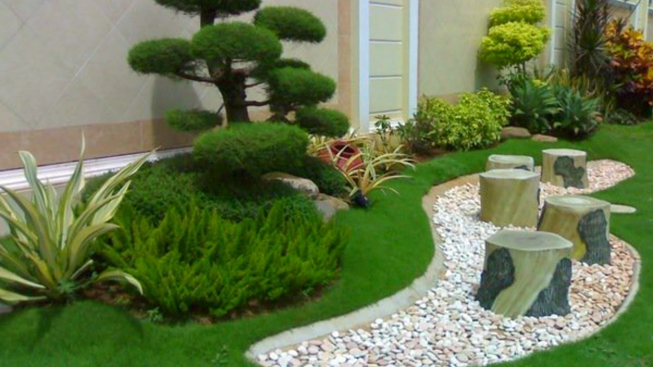 50 modern garden design ideas 2016 - small and big garden decoration VYXSEIL